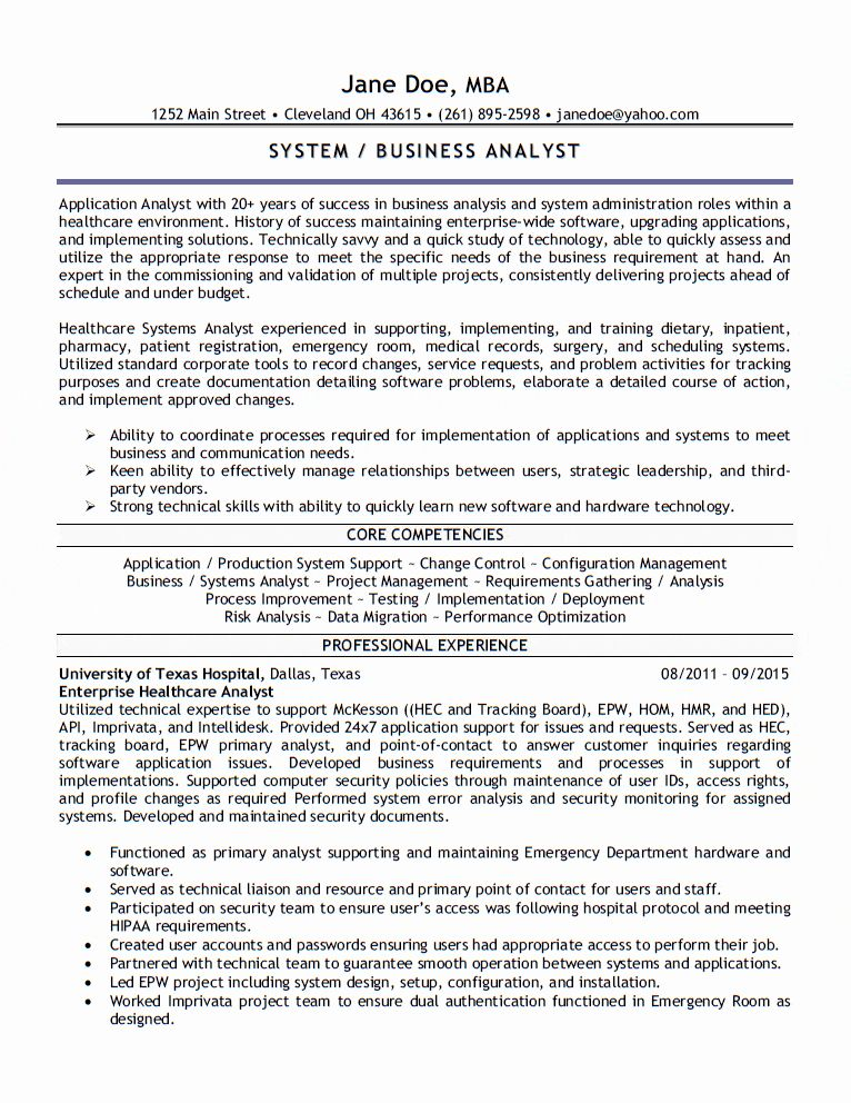 health care business analyst resume unique application job samples production support Resume Production Support Analyst Resume Sample