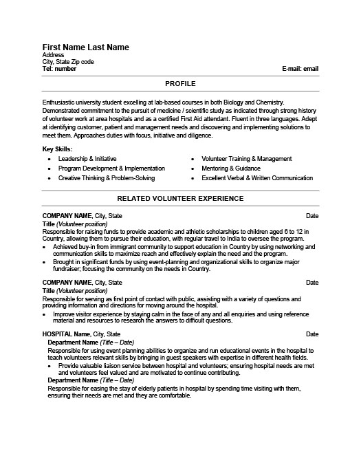 health care worker resume template premium samples example museum doctor good examples Resume Resume Health Care Worker