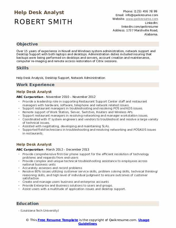 help desk analyst resume samples qwikresume summary pdf account executive examples Resume Help Desk Resume Summary