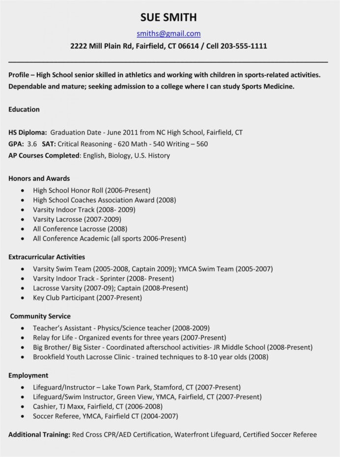 high school resume examples for college applications sample activities scaled writing Resume High School Activities Resume