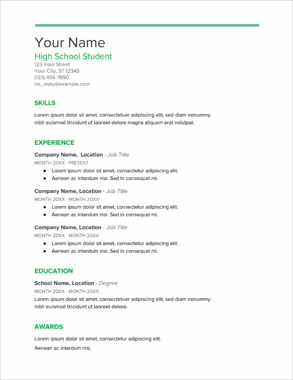 high school resume templates now blank template for students brand manager uga upwardly Resume Blank Resume Template For High School Students