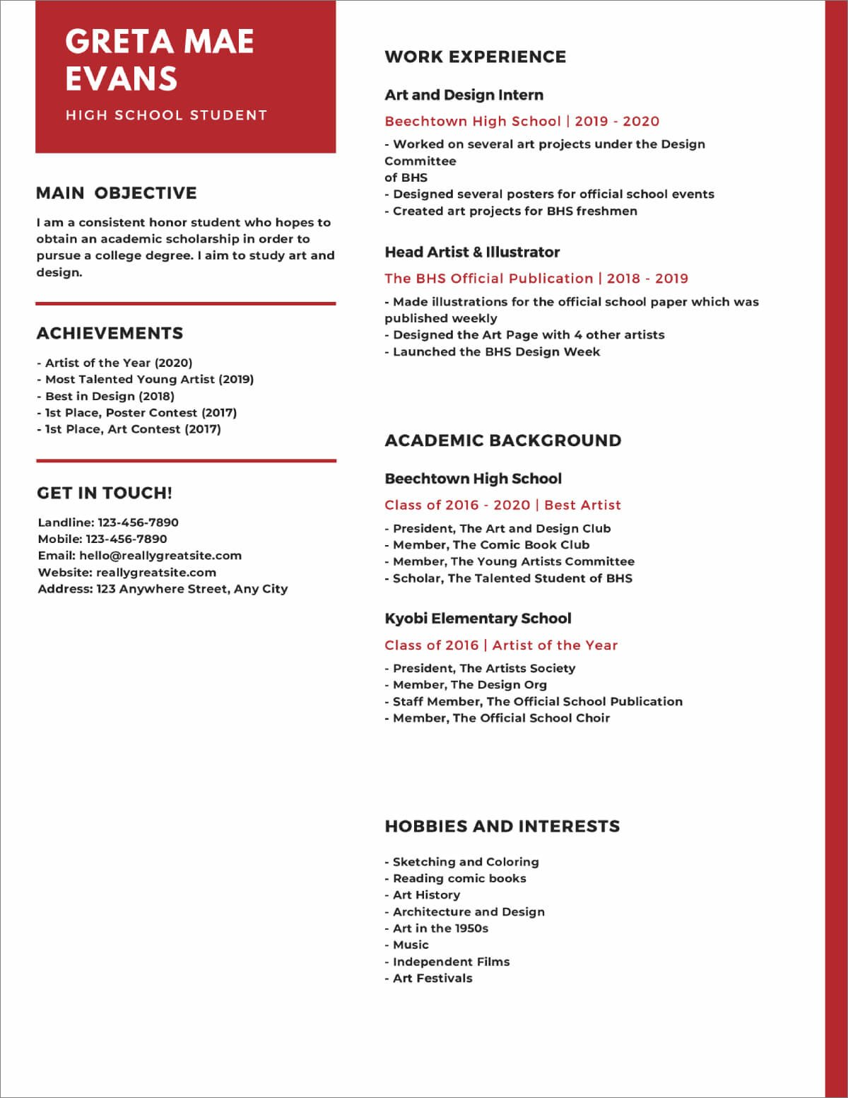 high school resume templates now blank template for students genius reviews cisco network Resume Blank Resume Template For High School Students