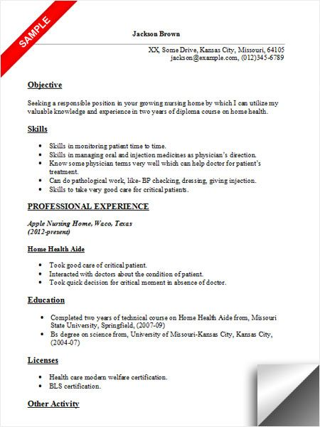 home health aide resume sample examples care customer service functional contemporary Resume Home Health Care Resume