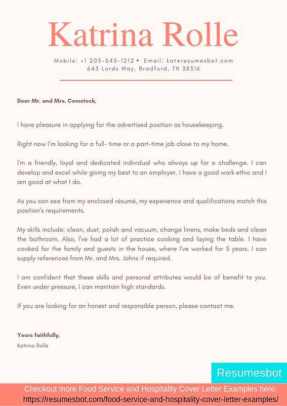 housekeeper cover letter samples templates pdf word letters rb housekeeping resume Resume Housekeeping Resume Objective