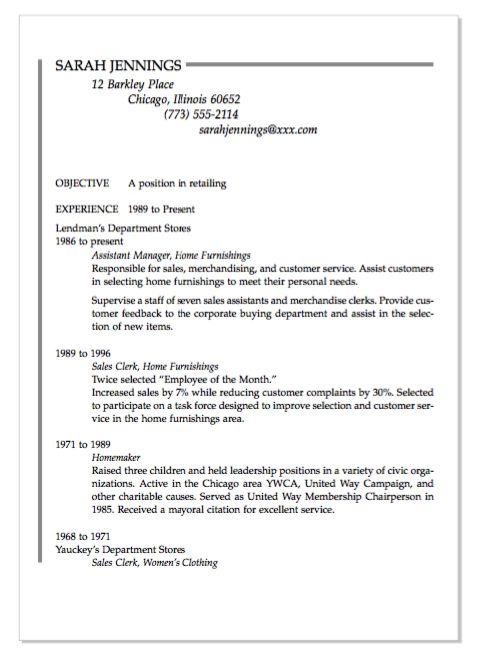 housewife resume samples format homemaker skills for with adjunct instructor unscramble Resume Homemaker Skills For Resume