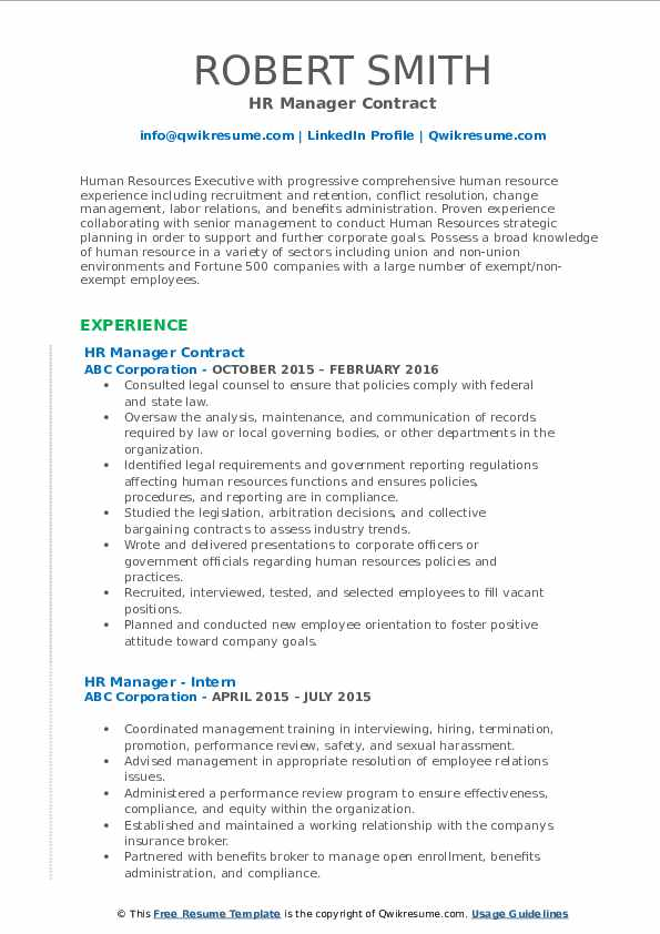 hr manager resume samples qwikresume conflict resolution pdf temp post consulting Resume Resume Conflict Resolution