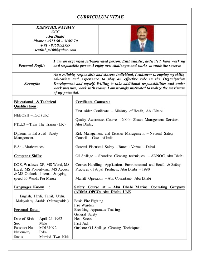 hse officer cv safety resume sample for freshers harvard format analytics manager Resume Safety Officer Resume Sample For Freshers