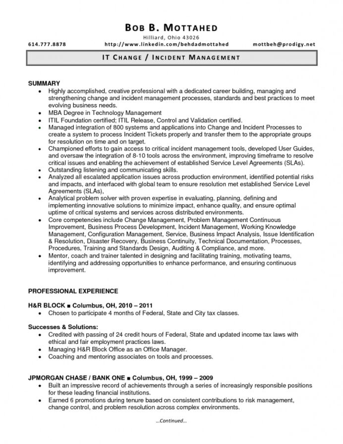 incident manager resume printable planner templates objective for cna qr code on Resume Incident Manager Resume