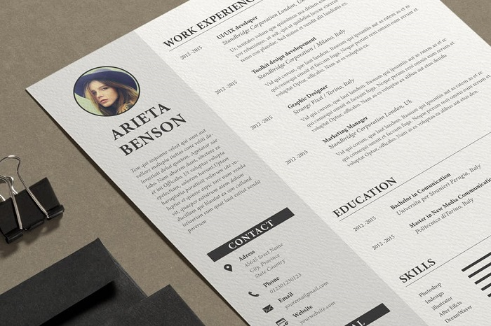 indesign resume template examples that look absolutely great reddit s1 printing paper Resume Indesign Resume Template Reddit