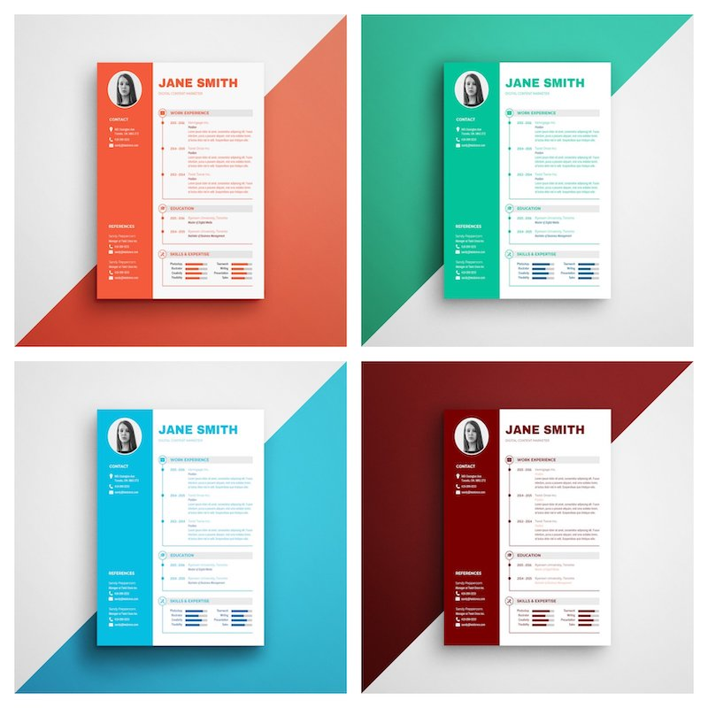 infographic resume template venngage pictorial templates modern black and executive Resume Pictorial Resume Templates