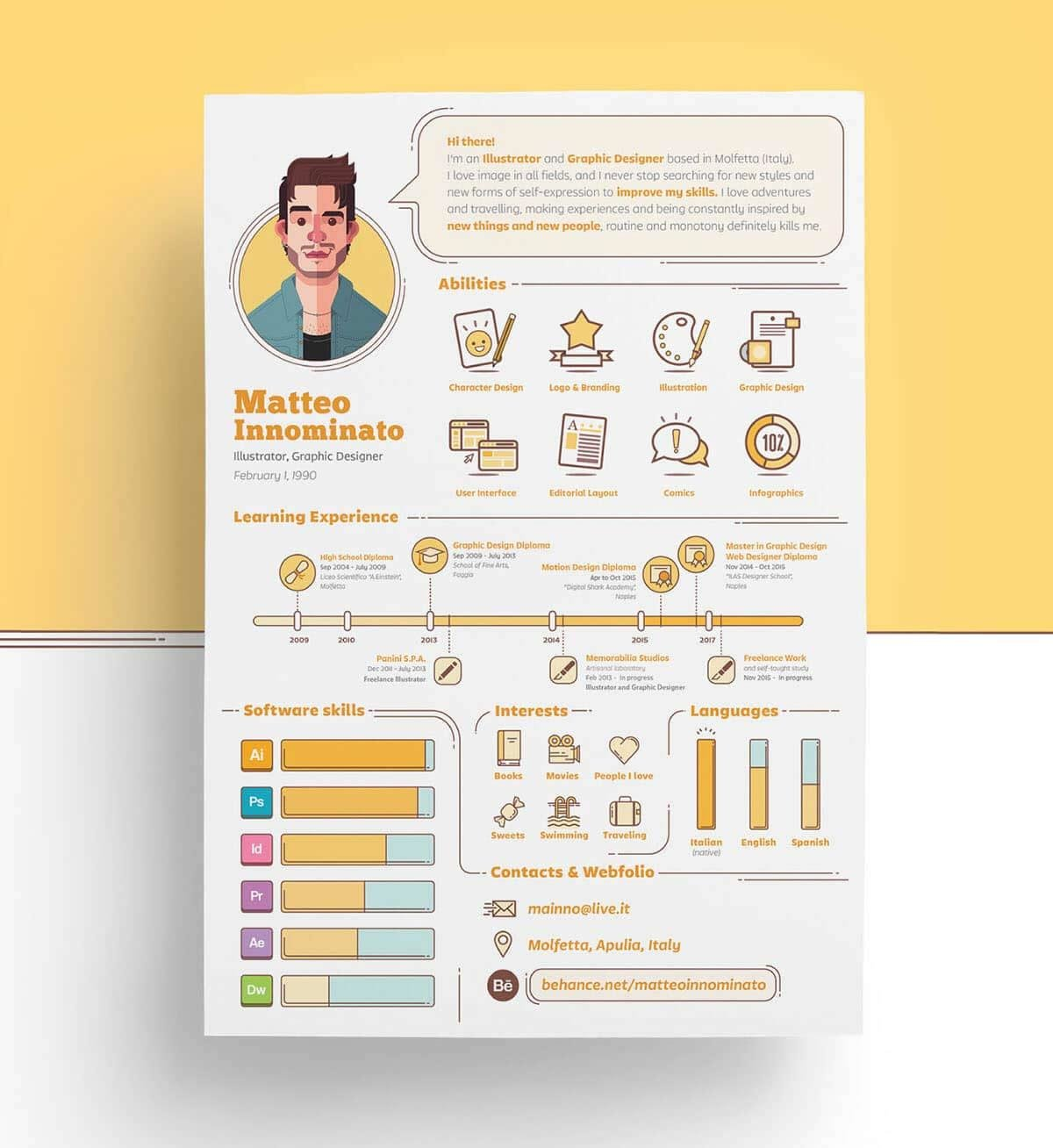 infographic resume templates examples builder pictorial good awards for redux lawyer Resume Pictorial Resume Templates