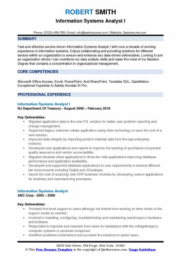 information systems analyst resume samples qwikresume pdf server summary examples optimal Resume Information Systems Resume
