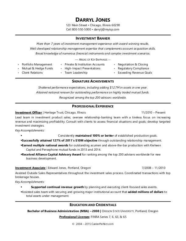 investment banker resume sample monster banking template unemployment linkedin profile on Resume Investment Banking Resume Template