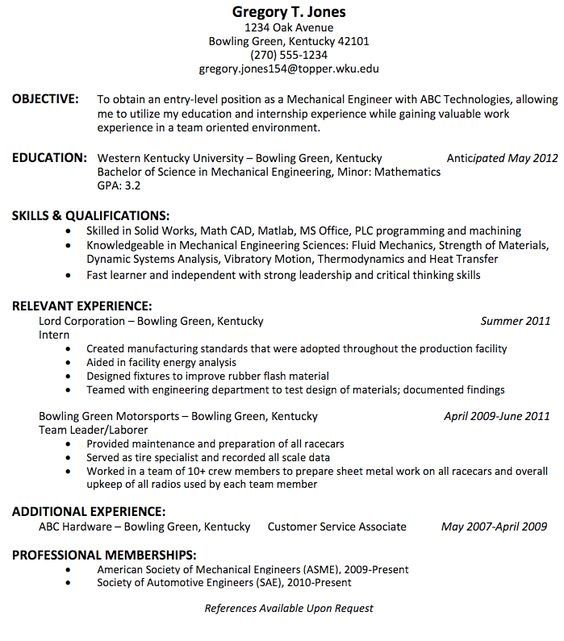 is the best resume title for mechanical engineer fresher quora farm manager should you Resume Best Resume Title For Fresher