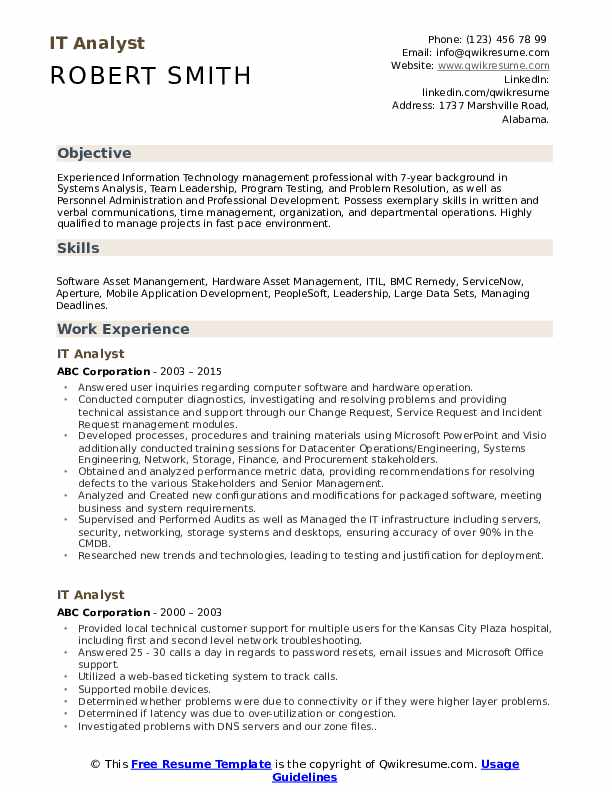 it analyst resume samples qwikresume aem business pdf administrative assistant examples Resume Aem Business Analyst Resume