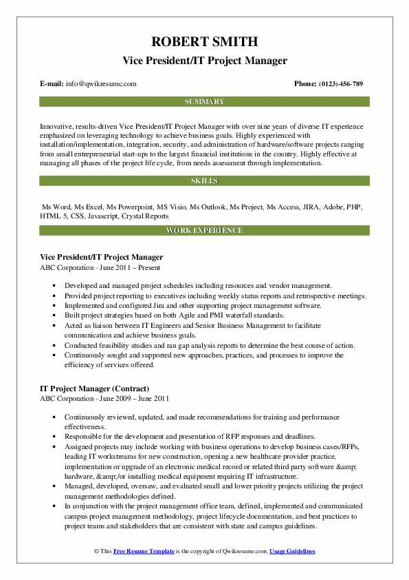 it project manager resume samples qwikresume data migration pdf objective for experienced Resume Data Migration Project Manager Resume