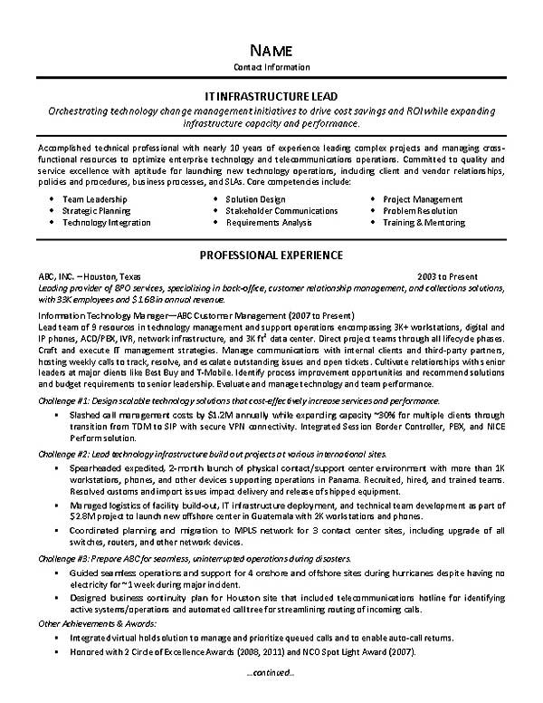it supervisor resume example objective samples extec28a upwork sample of operations Resume Supervisor Resume Objective Samples