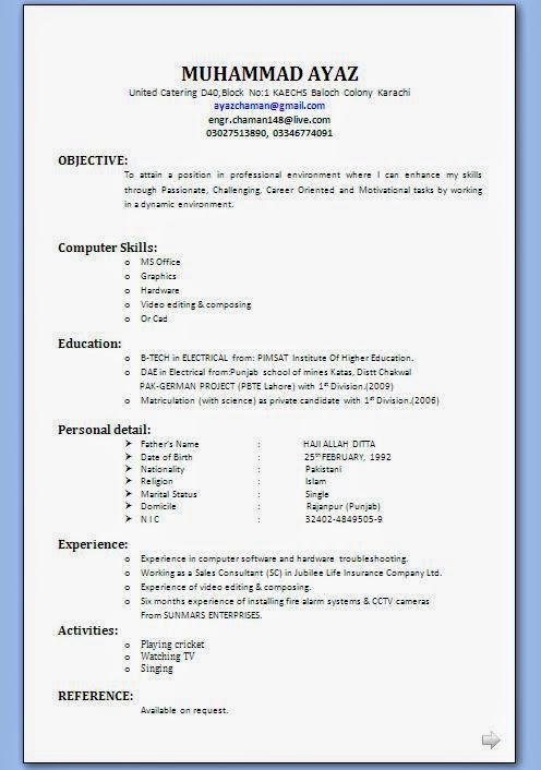 job interview application professional resume format best for formats free summary Resume Best Resume Format For Job Interview