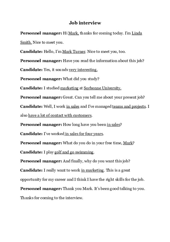 job interview dialogue resume example cna format for law students red flags tempaltes Resume Resume Job Interview Dialogue Example