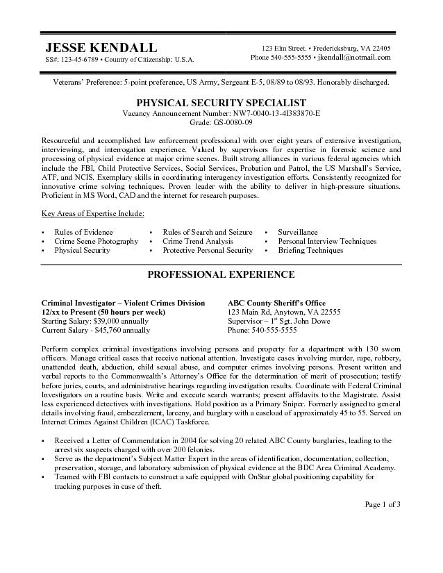 jobs resume format example federal government civil engineering technologist sample Resume Federal Government Resume Example