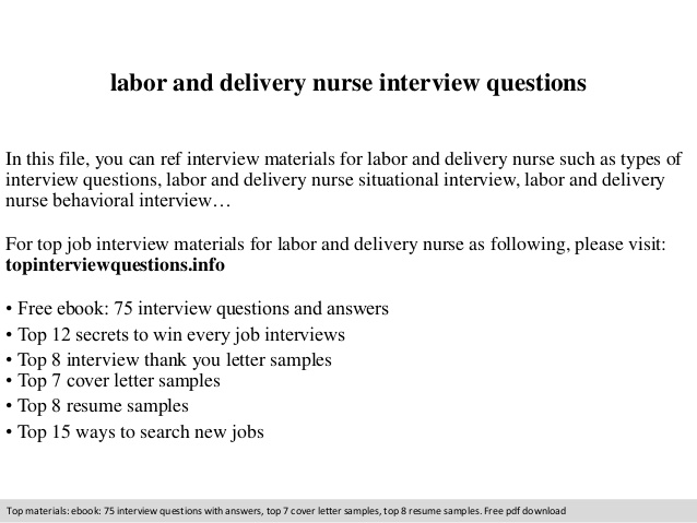labor and delivery nurse interview questions job description for resume free copy paste Resume Labor And Delivery Nurse Job Description For Resume