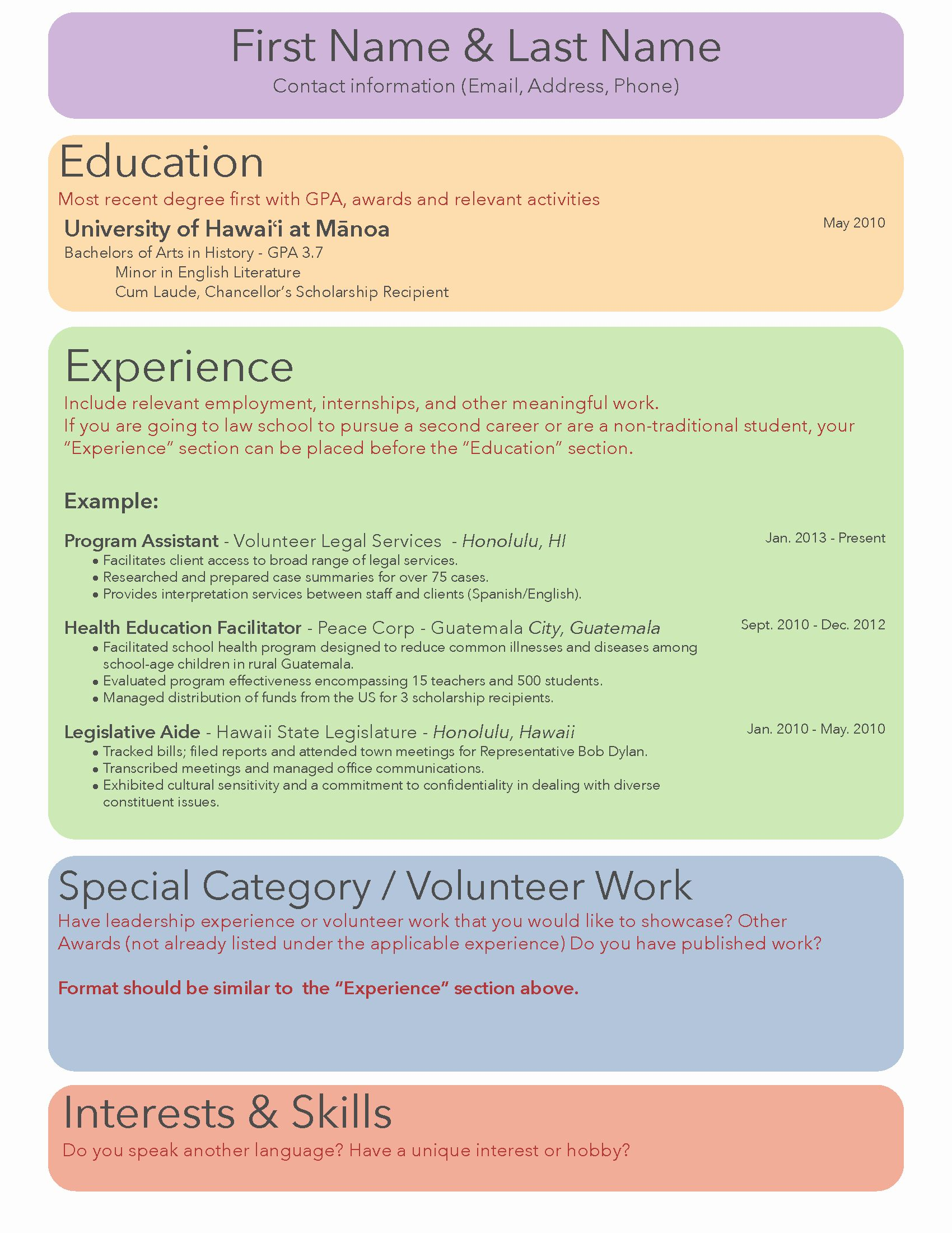 law school resume examples awesome update your academic résumé good interests for cma Resume Interests For Law Resume