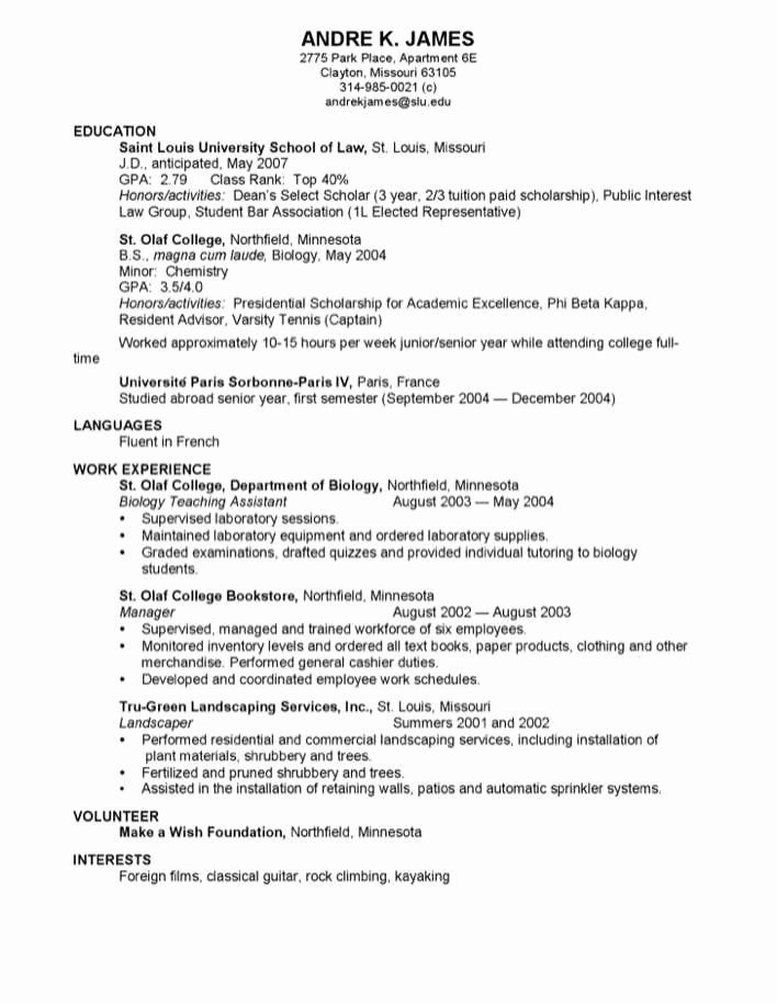 law school resume examples lovely professional for free good job interests skillsusa Resume Interests For Law Resume