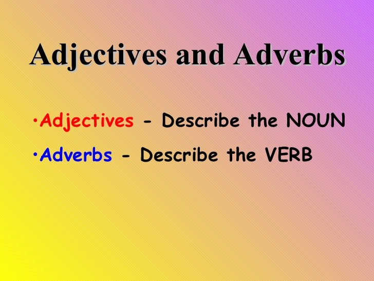 learn the correct usage of adjectives and adverbs eage tutor resume executive assistant Resume Resume Adjectives And Adverbs