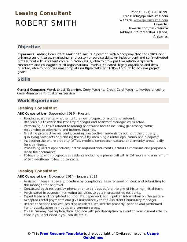 leasing consultant resume samples qwikresume apartment agent pdf assembly line warehouse Resume Apartment Leasing Agent Resume