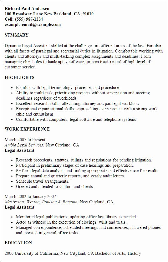 legal assistant resume examples best of template design tips good letter example Resume Legal Assistant Resume Examples