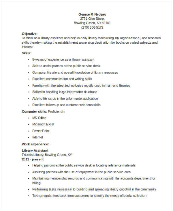 librarian resume templates free sample example format premium library director assistant Resume Library Director Resume Sample