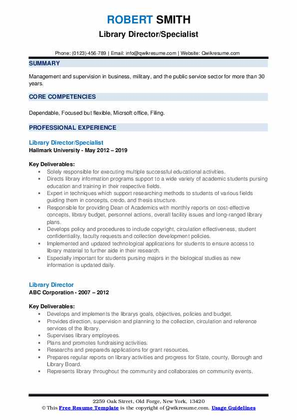 library director resume samples qwikresume sample pdf mortgage consultant ideas for Resume Library Director Resume Sample