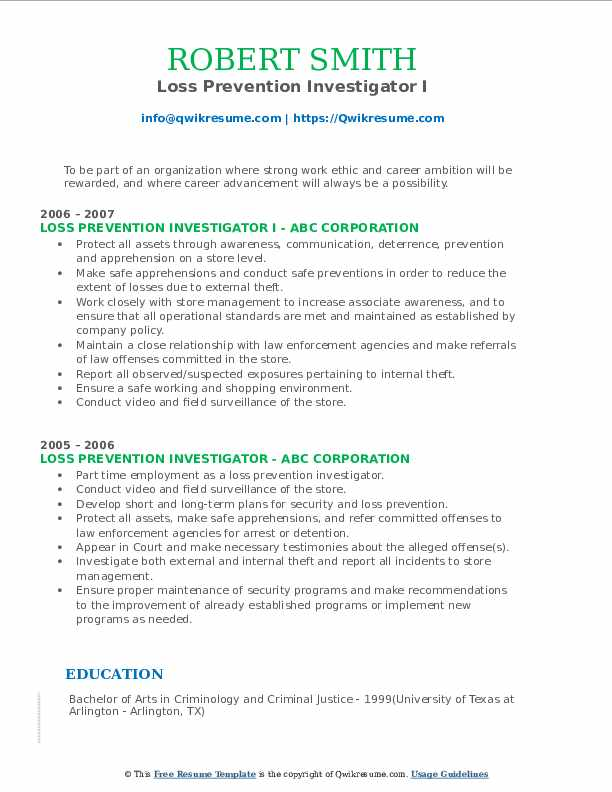 loss prevention investigator resume samples qwikresume pdf make your headline stand out Resume Loss Prevention Investigator Resume