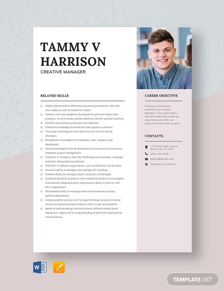 manager resumes in pdf free premium templates presentable resume format creative template Resume Presentable Resume Format