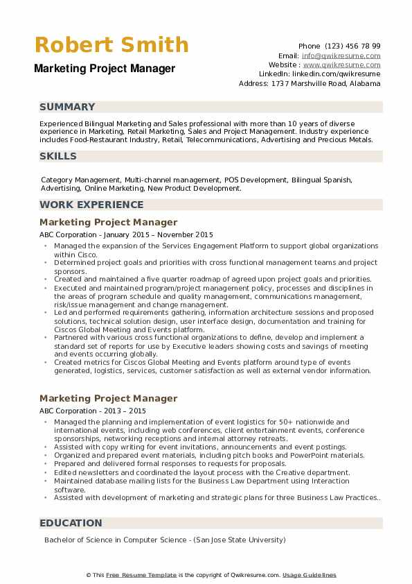 marketing project manager resume samples qwikresume digital pdf dominos delivery driver Resume Digital Marketing Project Manager Resume