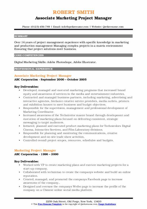 marketing project manager resume samples qwikresume digital pdf man apple skills on Resume Digital Marketing Project Manager Resume