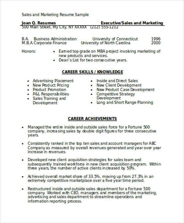 marketing resume format template free word pdf premium templates and template1 now good Resume Marketing Resume Format