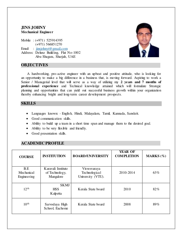 mechanical engineer resume apa style cover letter for iti electrician fresher bouncer Resume Mechanical Engineer Resume