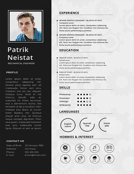 mechanical engineering resume templates pdf free premium engineer template business Resume Mechanical Engineer Resume