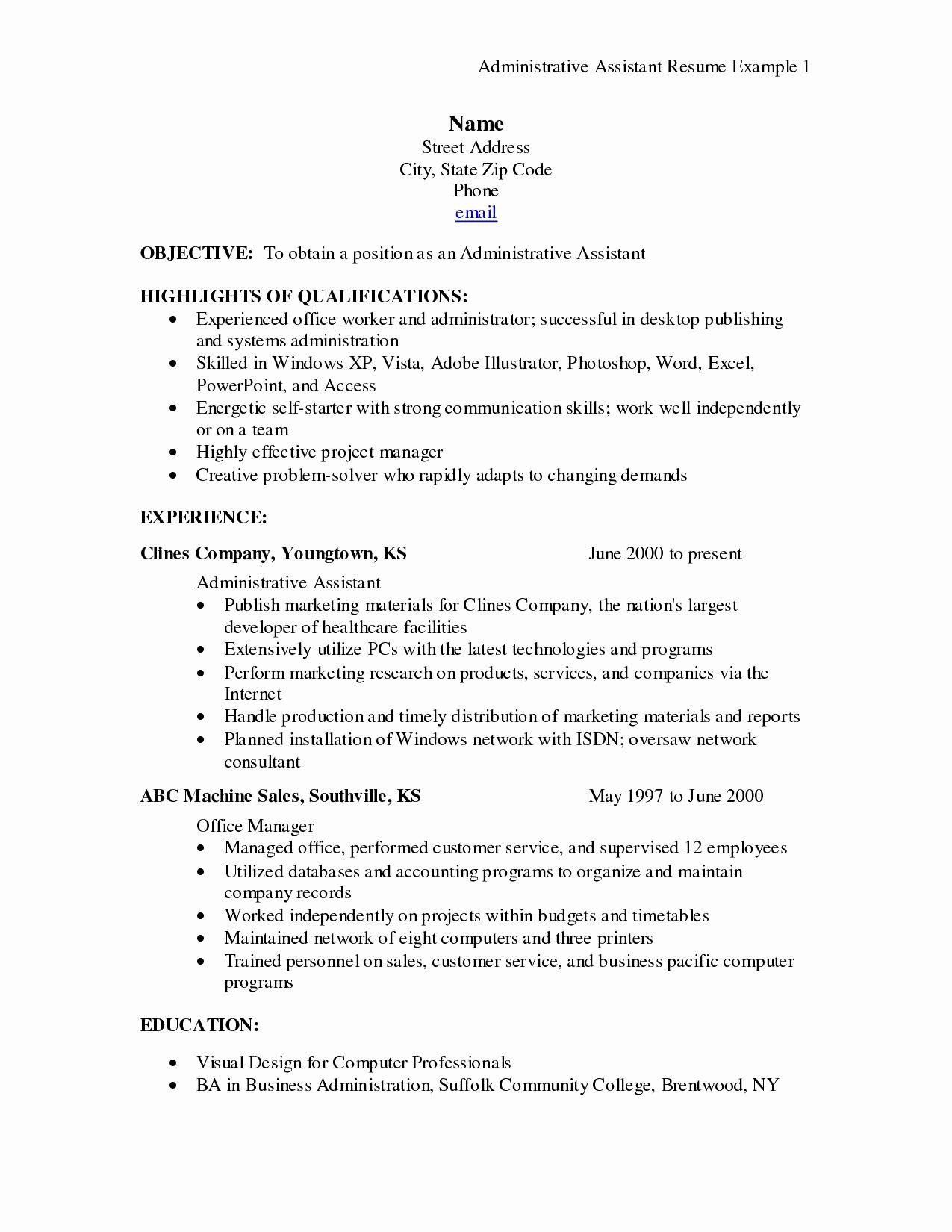 medical administrative assistant resume sample new templates examples receptionist jobs Resume Administrative Assistant Resume Examples 2020