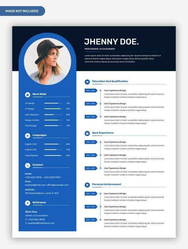 modern professional creative resume template with photo in templates and fraternity Resume Professional And Creative Resume Templates