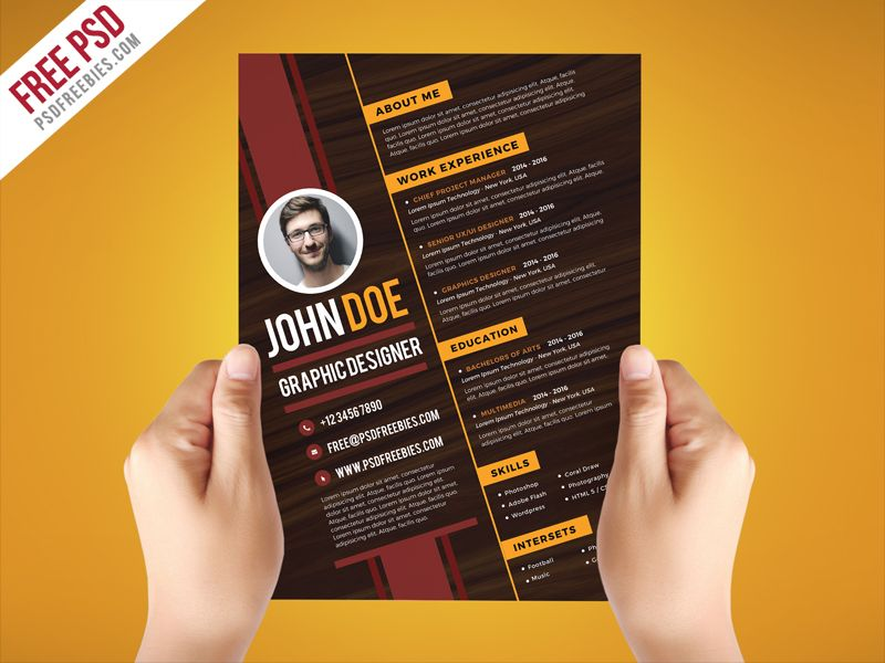 nice creative graphic designer resume template re design for free church secretary after Resume Resume For Graphic Designer Free Download