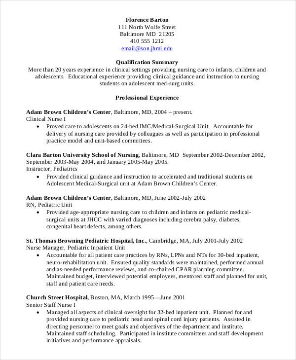 nursing student resume example free word pdf documents premium templates lpn clinical Resume Lpn Clinical Experience Resume