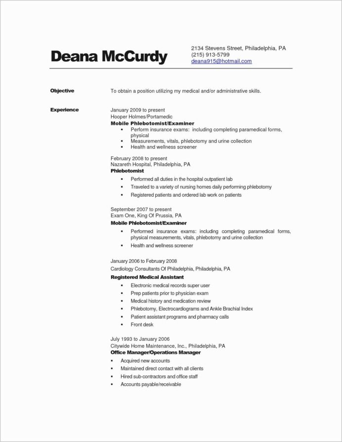 nursing supervisor resume template envato good introduction for como hacer un house Resume Phlebotomy Supervisor Resume
