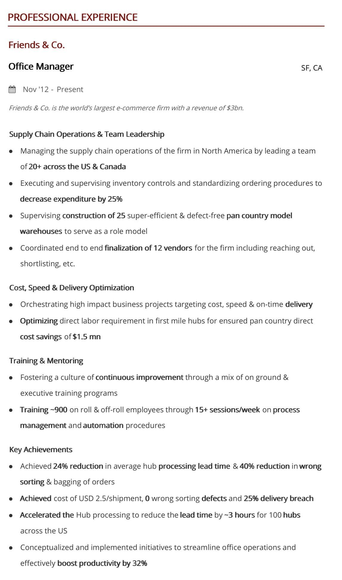 office manager resume step guide with samples examples summary hiration sample Resume Office Manager Resume Summary Examples