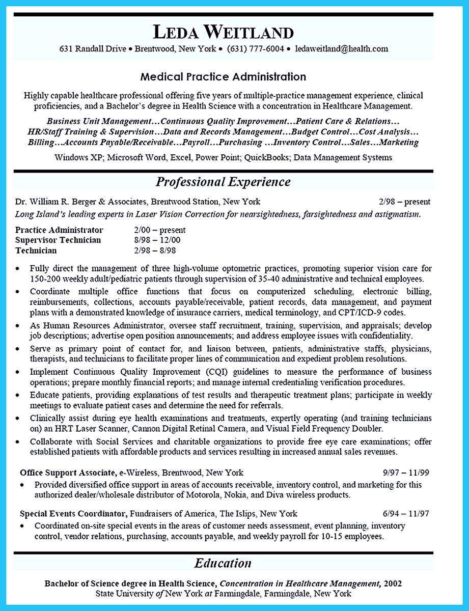 one of the important things that you need to do apply job is making resume if seek for Resume Clinical Administrative Coordinator Resume