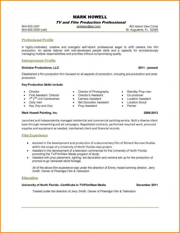 one resume examples good great entry level finance objective federal government template Resume Great One Page Resume Examples