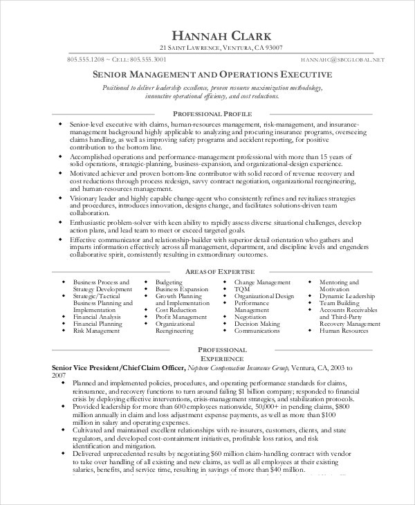 operations manager resume free sample example format premium templates summary for tools Resume Operations Manager Summary For Resume