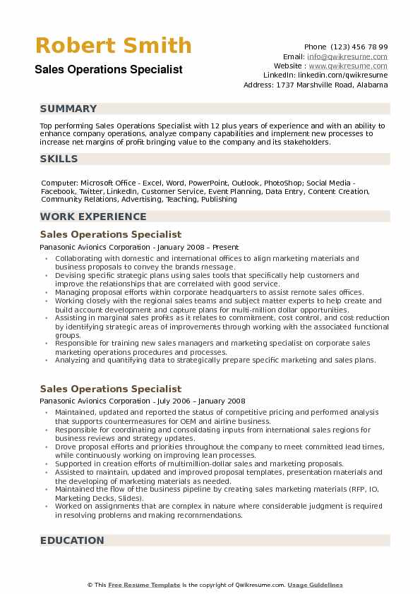 operations specialist resume samples qwikresume business pdf diesel mechanic examples Resume Business Operations Specialist Resume