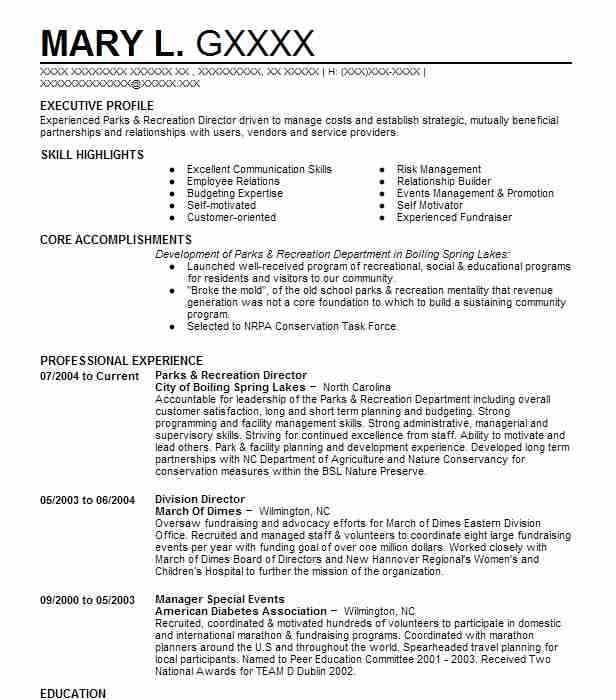 parks and recreation director resume example city of pahokee leader sample dog groomer Resume Recreation Leader Resume Sample